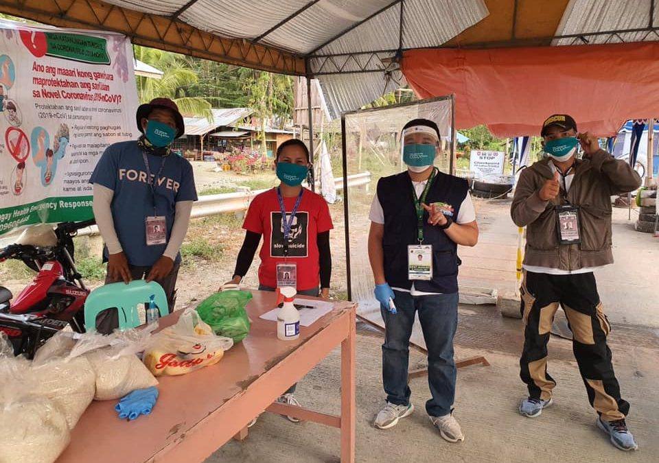 Creating Awareness and Prevention on COVID-19 Pandemic of Sta. Catalina Cooperative.